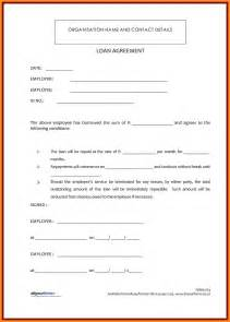 4 personal loan agreement sample parts of resume