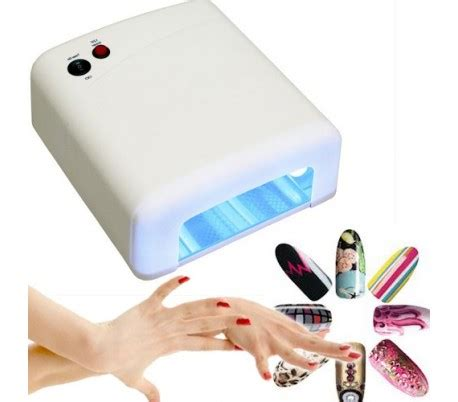 royal nails 54 watt uv l l 225 mpara uv secador de u 241 as manicura u 241 as de gel 36w