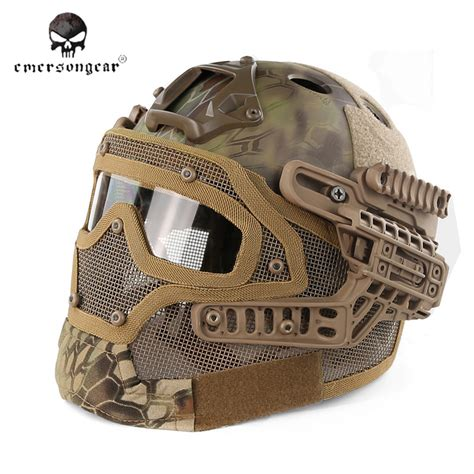 Emerson Airsoft Combat Mask emerson g4 system pj helmet with mask mad bd9197f 105 00 airsoft shop