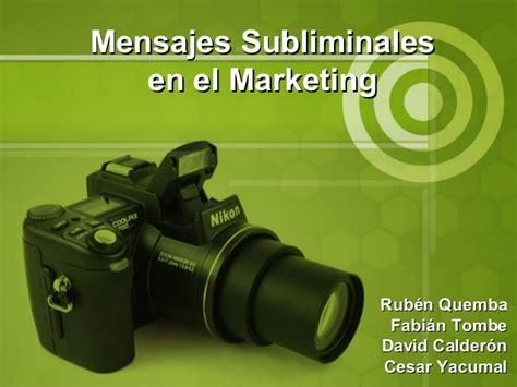 mensajes subliminales en la publicidad mensajes subliminales slideshare upload share and party