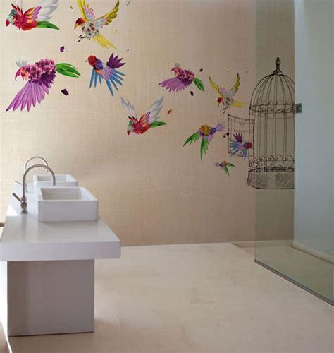 Carta Da Parati Bagno by Carte Da Parati Di Design Per La Zona Bagno Fyhwl