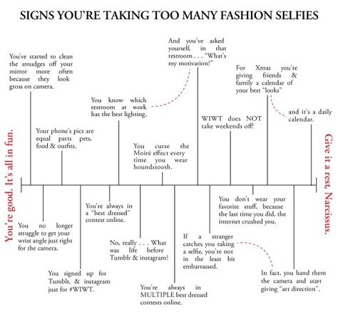 7 Signs Youre A Fashion Junkie by Signs You Re Taking Many Fashion Selfies Selfies And