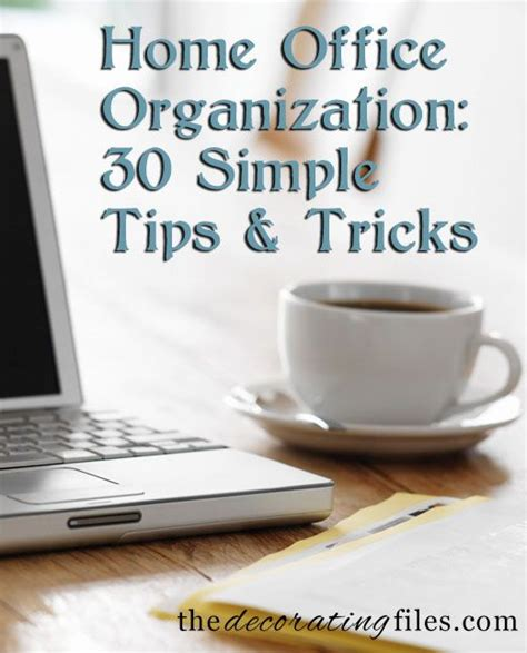 101 awesome home organizing tips and tricks 30 cool office organization tips and tricks yvotube com