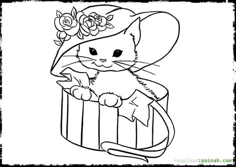 mosaic christmas coloring pages festival collections kitten christmas coloring pages festival collections