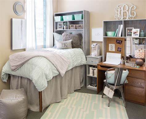 cute bedroom setups what you actually need for college dorm dorms decor and
