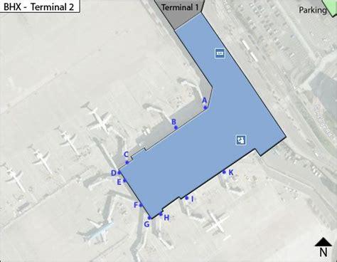 birmingham uk airport map bhx birmingham uk airport terminal maps