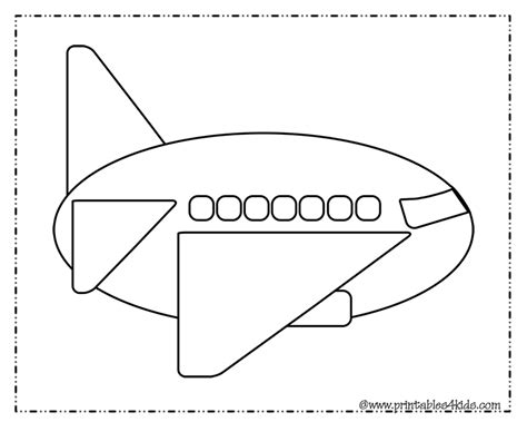 preschool coloring pages airplane free coloring pages of airplane activities