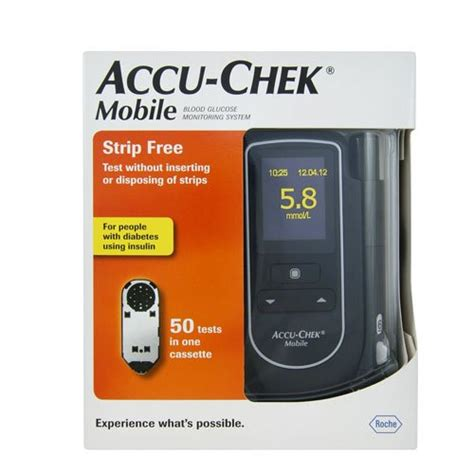 accu chek mobile test cassette 100 strips accu check mobile test cassettes 100 tests