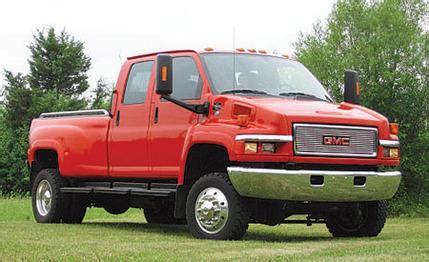 widebody chevy truck 2004 gmc c5500 kodiac with a starcraft widebody chevy