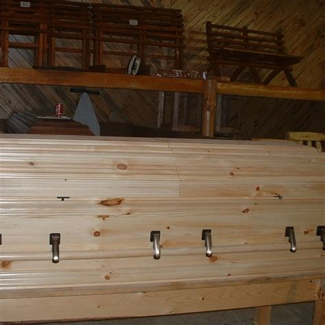 handmade wooden casket by henry s woodworking