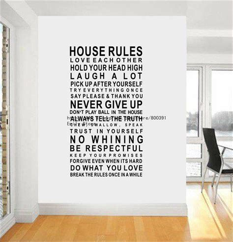 house rules design ideas dekor kombuis on pinterest wall stickers stickers and decals