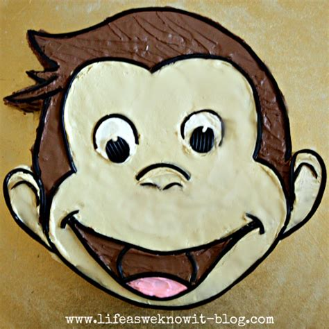 curious george cake template as we it how to create a curious george cake