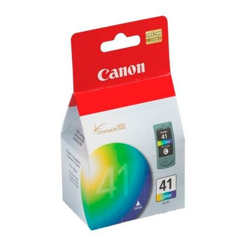 Tinta Canon Pixma 41 Colour compudiskett srl tinta canon cl 41 color 12ml ip1800 mp140 220