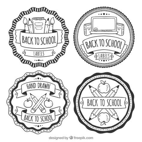 imagenes blanco y negro editar etiquetas en blanco y negro para la vuelta al cole