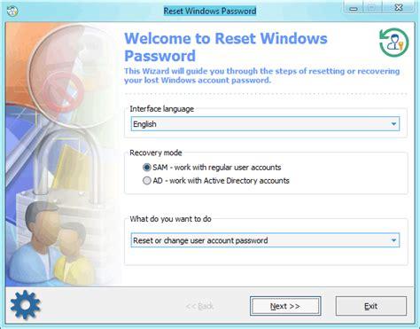 windows password reset event id reset windows password screenshots