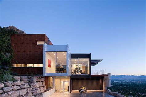 home design in utah modern residence located salt lake city utah