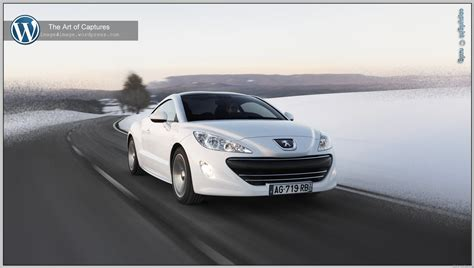 peugeot rcz 2012 peugeot rcz the art of captures