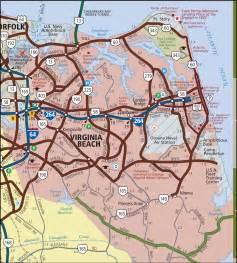 Virginia Beach Map by Virginia Beach Map