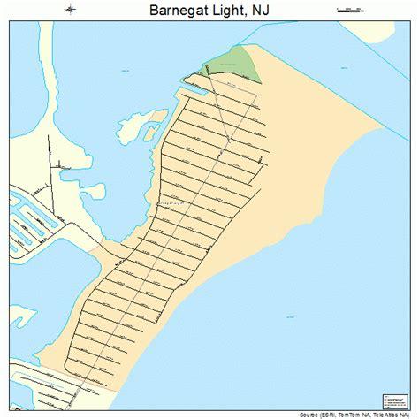 Barnegat Light Nj by Barnegat Light New Jersey Map 3403130