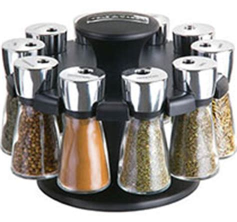 Herbs And Spices Holder Cole Herb And Spice Carousel Rack With