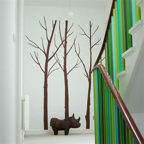 Staircase Wall Painting Ideas Animal Inspired Wall 7 Great Ideas