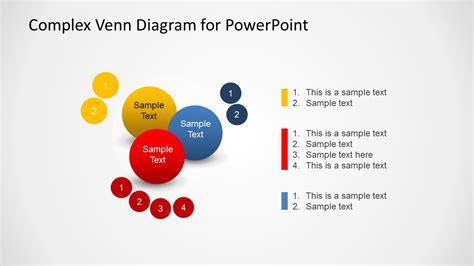 complex venn diagram complex venn diagram design for powerpoint slidemodel