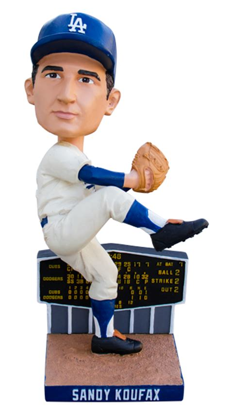 Dodger Stadium Giveaways - first look sandy koufax bobblehead august 13 dodger stadium giveaway inside the