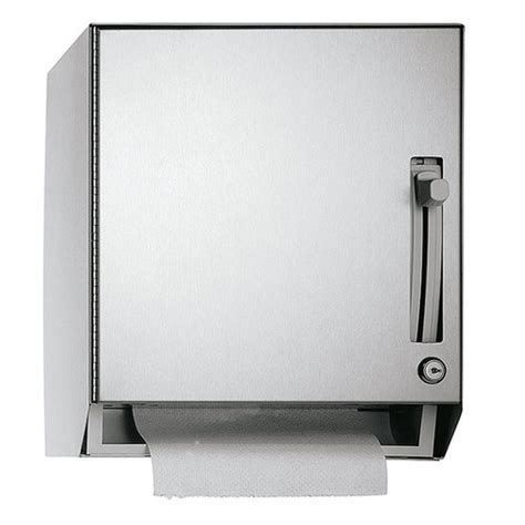 commercial bathroom paper towel dispenser asi traditional collection roll paper towel dispenser 8522