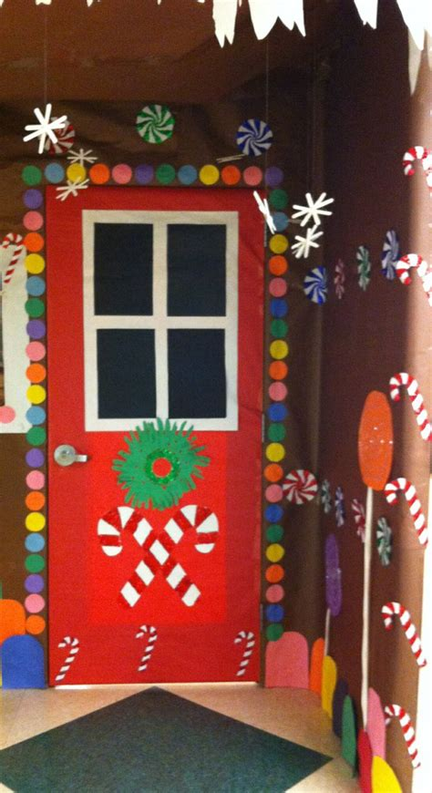 christmas doors in schools 166 best cubicle office decorating contest images on