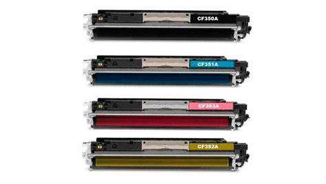 Toner Cf350a hp 130a multipack toner cartridge compatible hp 130a 4