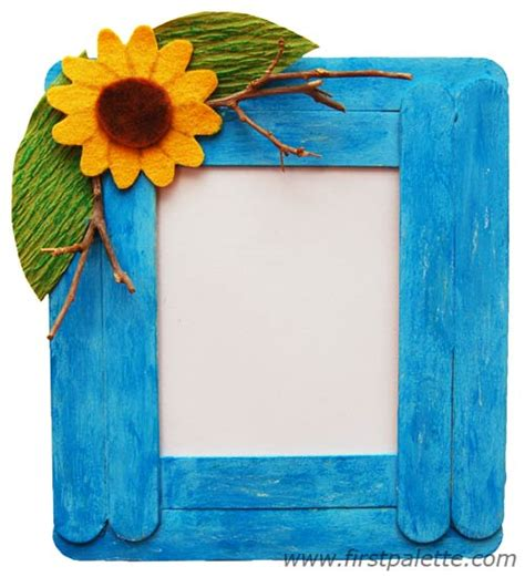 picture frame craft craft stick photo frame craft crafts