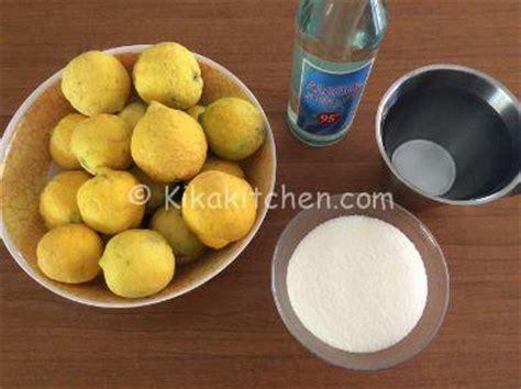 come fare il limoncello a casa limoncello fatto in casa ricetta facile kikakitchen