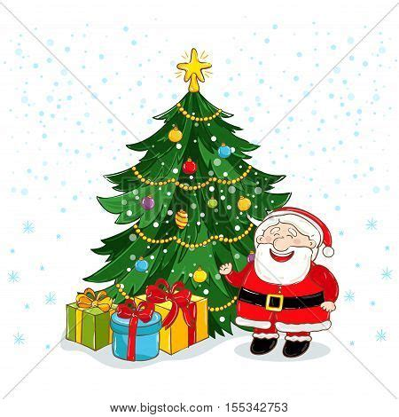 photo of santa claus and christmas tree santa claus images illustrations vectors santa claus stock photos images bigstock