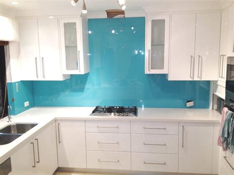 Glass Subway Tiles For Kitchen Backsplash by New Kitchen Renovation With New Coloured Glass Splashbacks