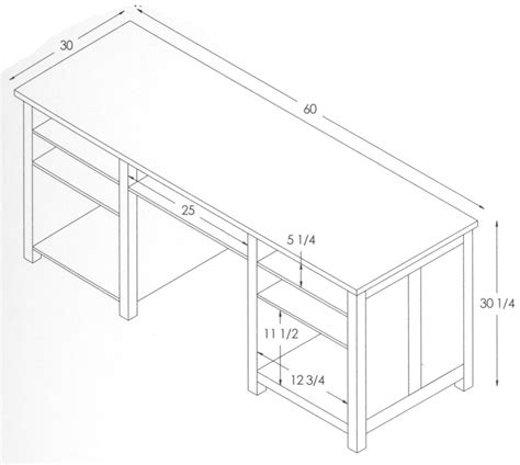 Office Desk Dimensions Standard Office Desk Sizes