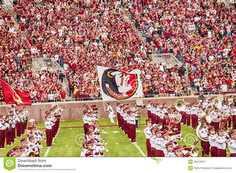 the marching chiefs of florida state the band that never lost a halftime show books florida state football editorial photography image 36475817