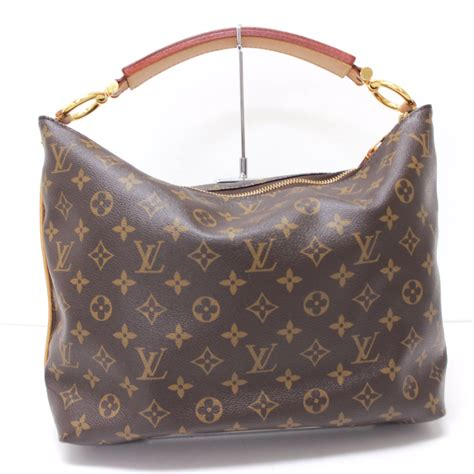 authentic louis vuitton monogram sully pm shoulder bag