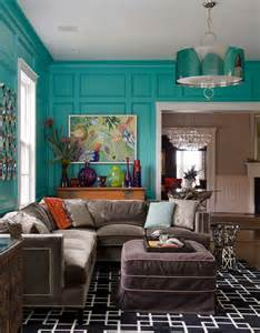 House Of Turquoise Living Room by Turquoise Wall Paint Living Room Rustic With Elephant