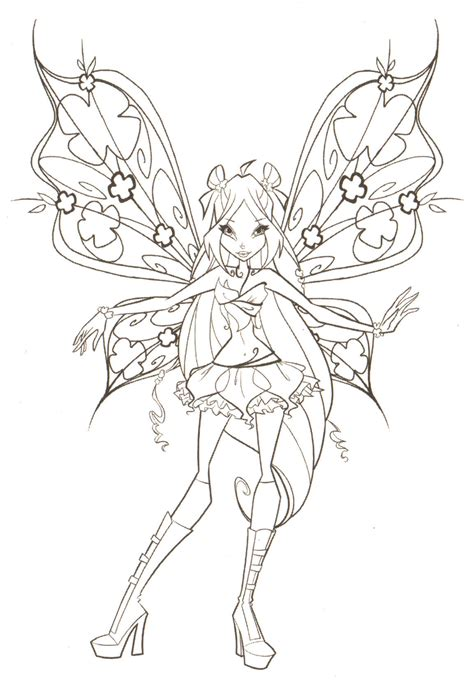 winx club coloring pages bloomix free coloring pages for