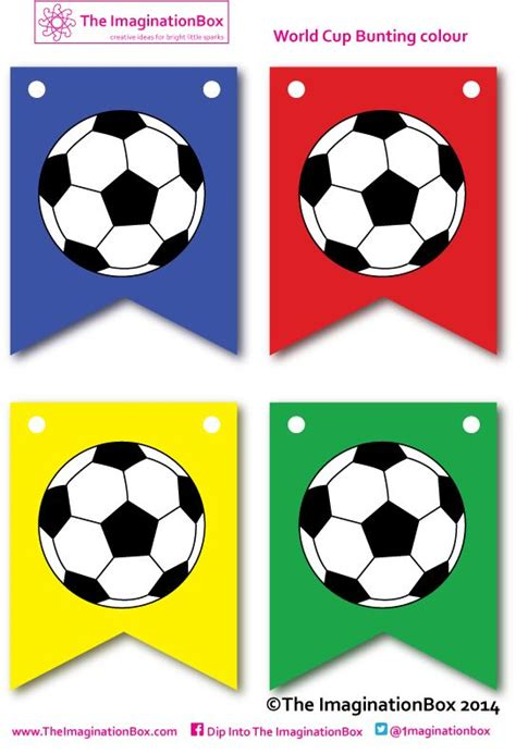 printable soccer banner world cup 2014 kicks off here make your own bunting