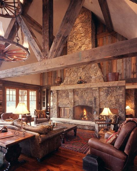 rustic livingroom 1000 ideas about rustic living rooms on pinterest