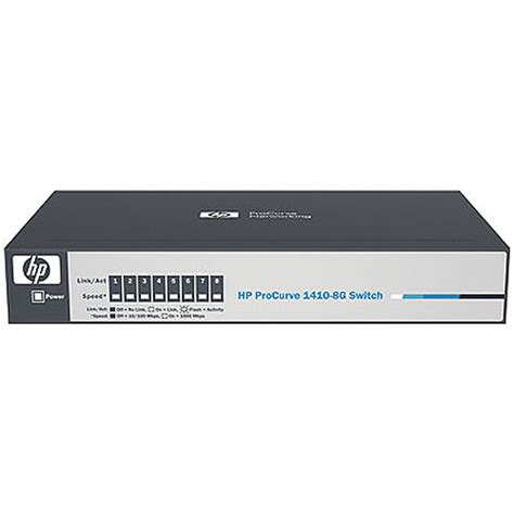 Switch Hub 8 Port Hp hp 1410 series 8 port gigabit unmanaged switch j9559a aba b h