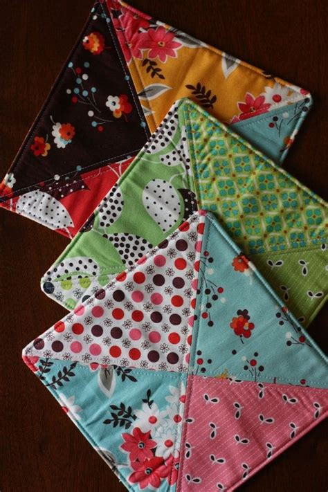 quilted potholders pads pot holders and trivets
