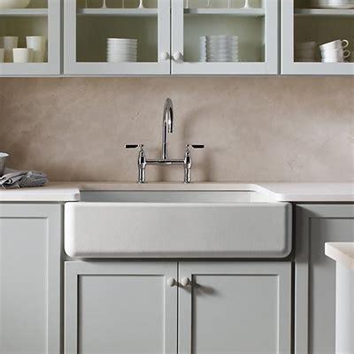 Kitchen Sinks Stores Kohler 6489 Whitehaven Undermount Single Bowl Kitchen Sink W Apron Atg Stores