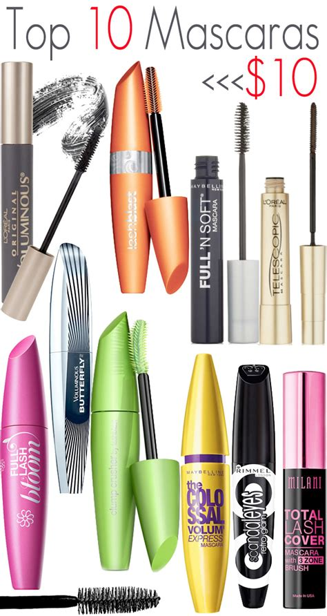 7 Great Mascaras For by Top 10 Mascaras 10 00 Beautiful Makeup Search