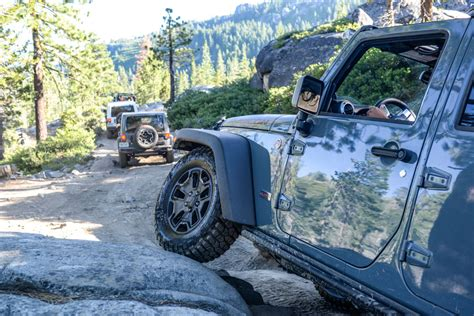 Jeep Rubicon Trail Driving The Rubicon Trail In A Jeep Wrangler Motoring