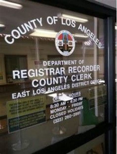 La County Registrar Recorder Marriage License 19 Best Images About Marriage Locations In Los Angeles County On Gardens