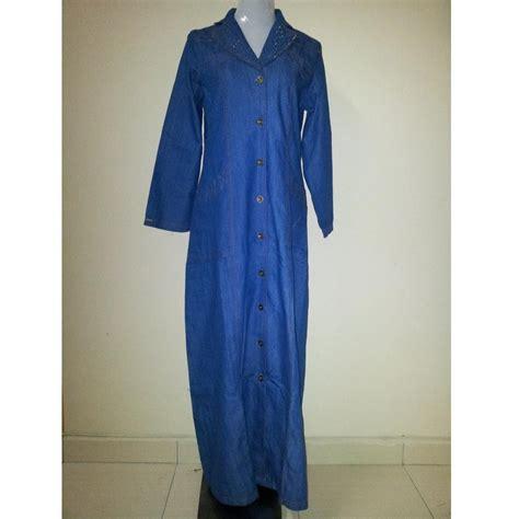 Kain Denim blouse kain denim chevron blouse