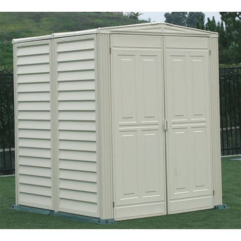 Shed With Floor by Duramax 174 5x5 Yardsaver Vinyl Shed With Floor 130913