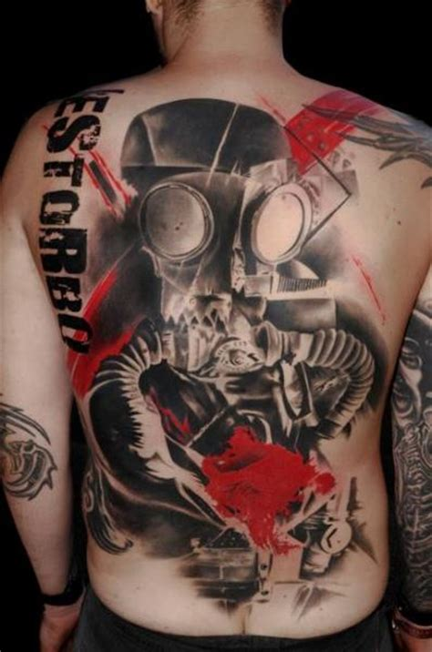 tattoo cost full back r 252 cken trash polka soldaten tattoo von buena vista tattoo club